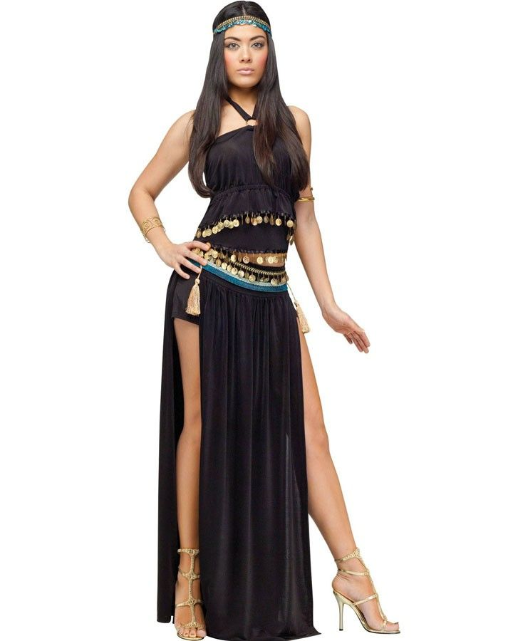 egyptian nile dancer womens costume - Helen Of Troy Halloween Costume