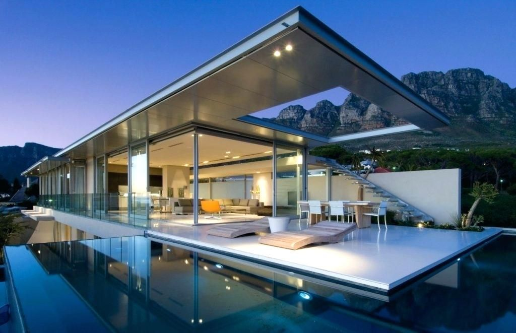 Image Result For Modern Waterfront Homes House And Home Magazine Architecture Luxury House Plans