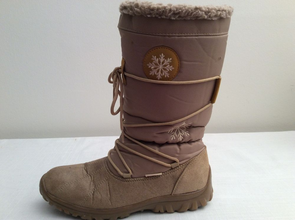 b29f182f58c Womens SNOW WINTER BOOTS Size EU 38 US 7 Made In Germany  TenTex  SnowWinter