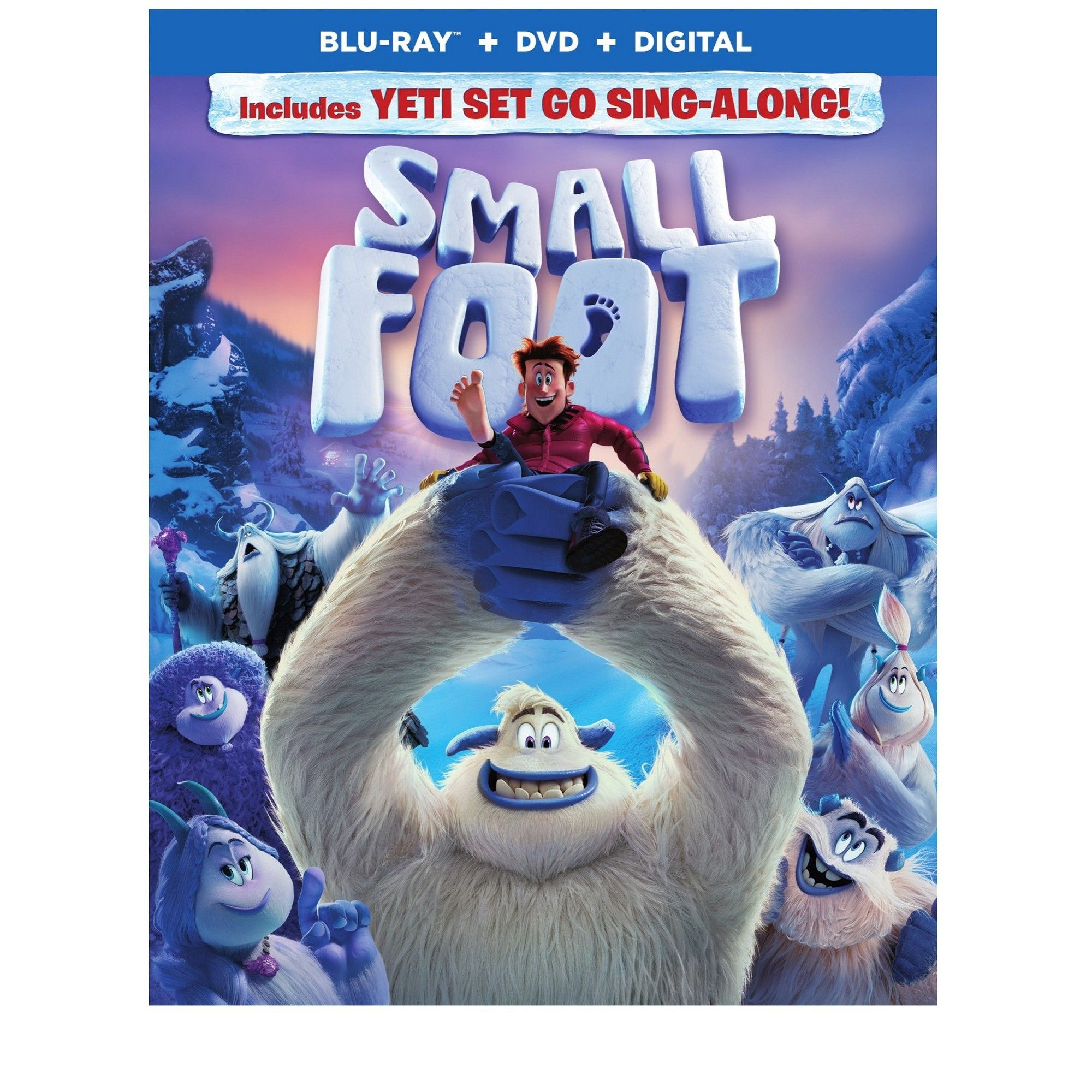 Smallfoot Blu Ray Free Movies Online Animated Movies Movies Online