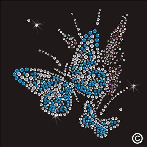 Hotfix Strass Motiv Schmetterling Amazon De Kuche Haushalt Ostereier Basteln Schmetterling Motive
