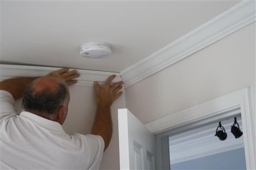Tutorial How To Install Crown Molding Like A Professional Crown Molding Installation Crown Molding Molding Installation