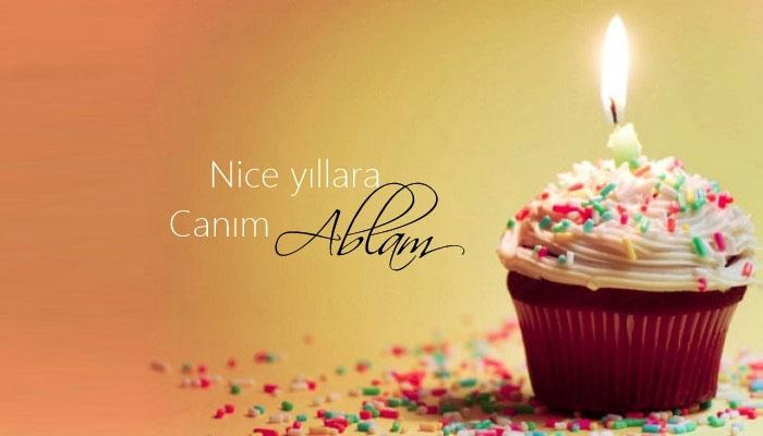 Ablaya Dogum Gunu Mesajlari Resimli Dogum Gunu Sozleri Birthday Candles Desserts Birthday