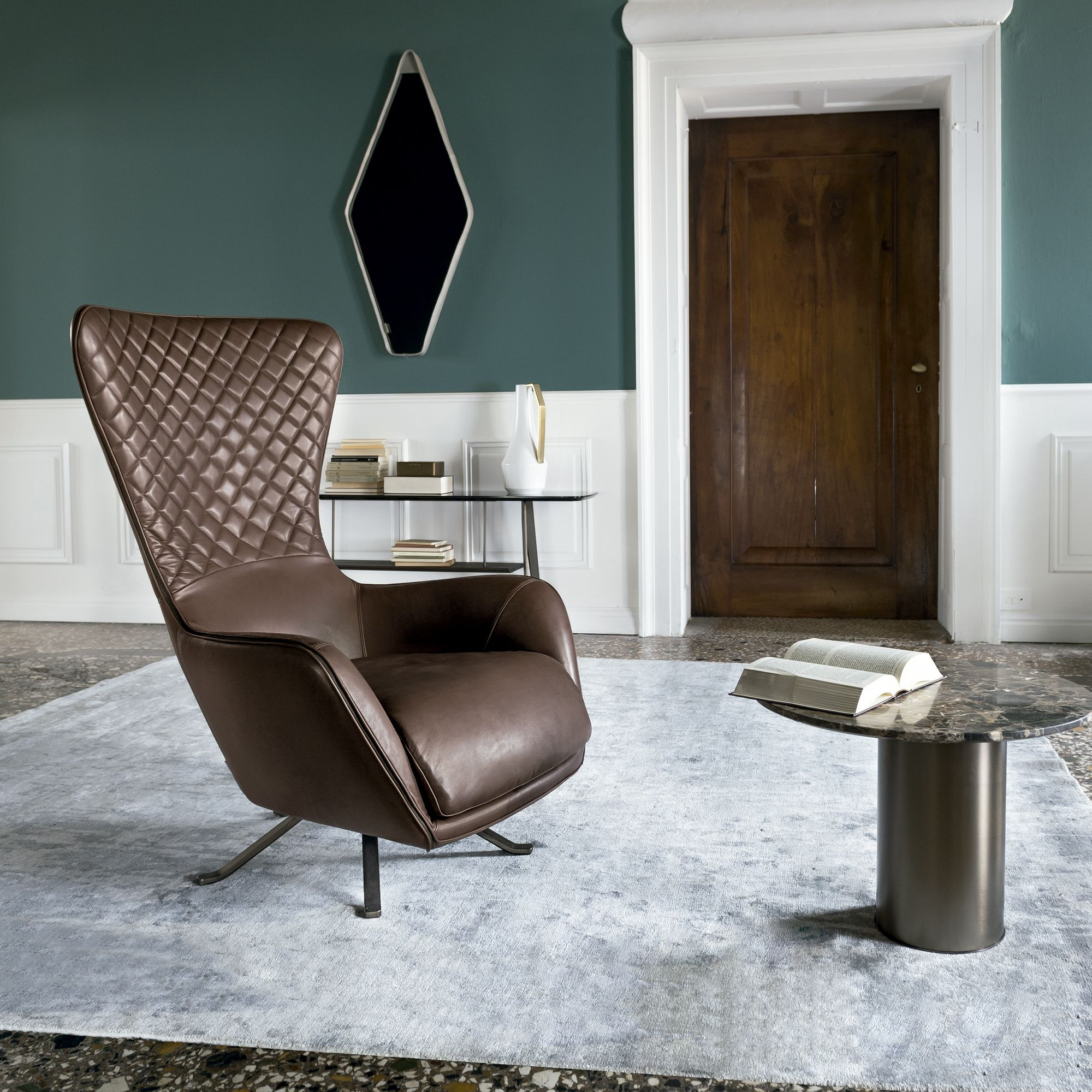 Nice Italian Designer Upholstered Sin Seaty Lounge Chair   High End Italian  Designer U0026 Luxury Furniture At Cassoni.com
