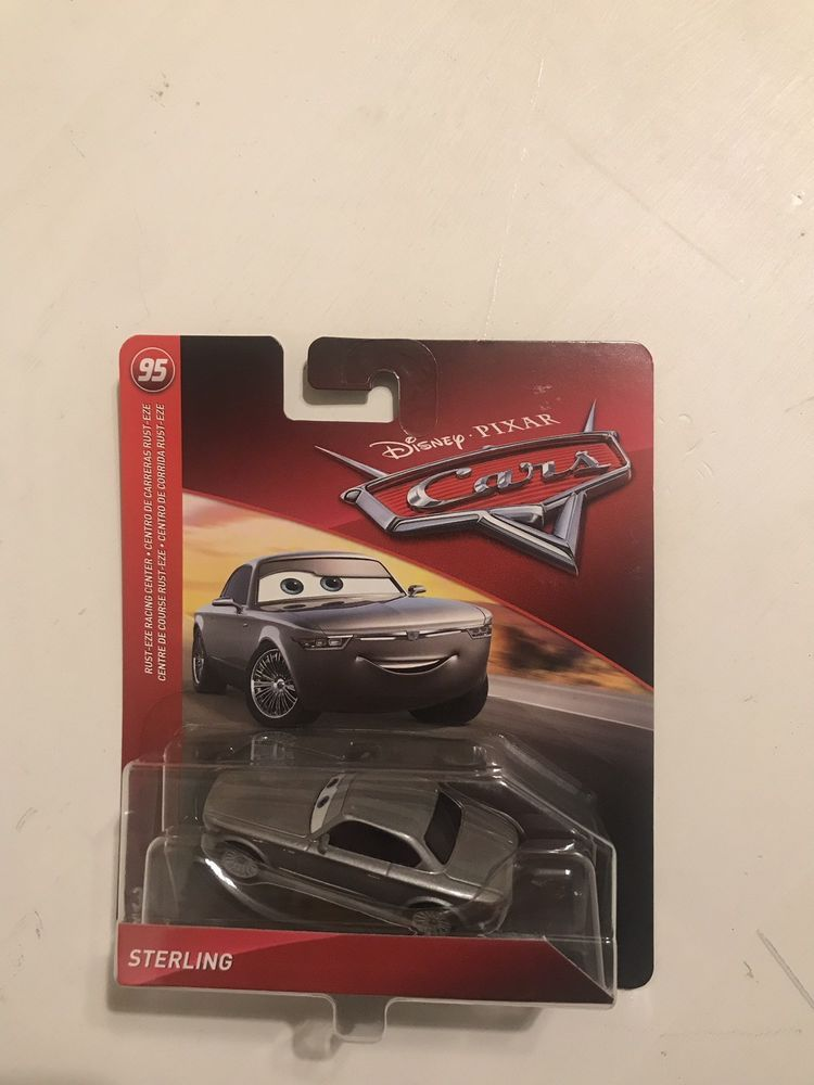 Disney Pixar Cars Sterling Silver Rust-Eze Racing Center Theme Mattel 1:55 2018