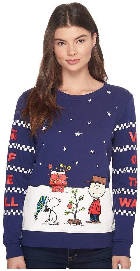 381fddfca9 Vans Peanuts Christmas Crew Women s Clothing