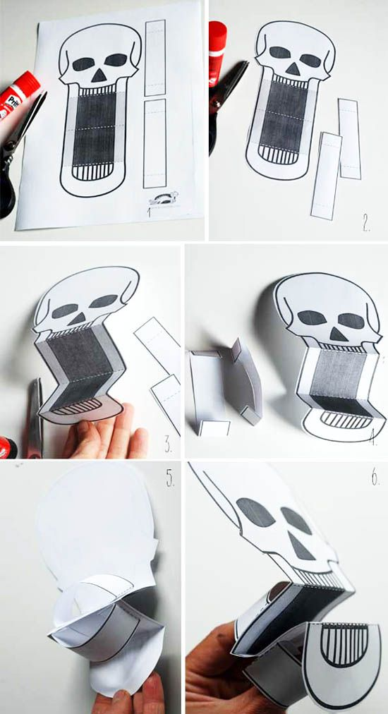 Kağıttan El Kuklası Yapımı