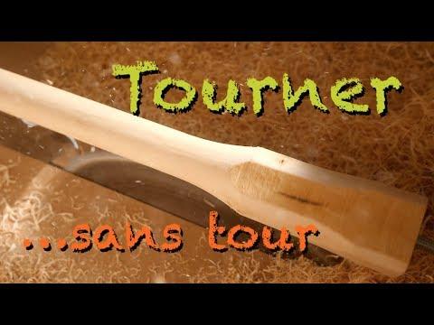 8 Comment Tourner Sans Tour A Bois Youtube Tour A Bois