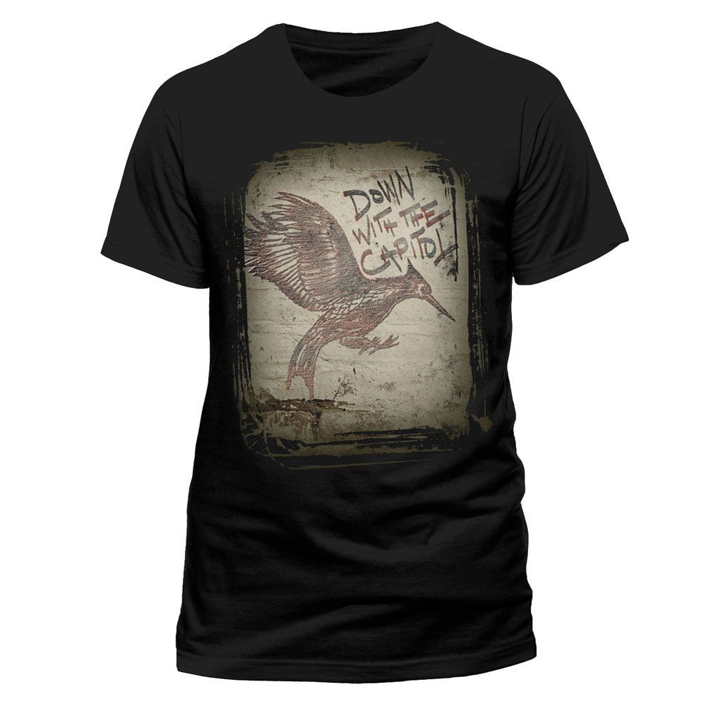 Camiseta En Llamas. Los Juegos del Hambre (The Hunger ...