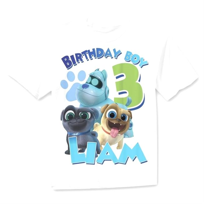 Puppy Dog Pals Birthday Shirt Boys Puppy Dog Pals Birthday Shirt