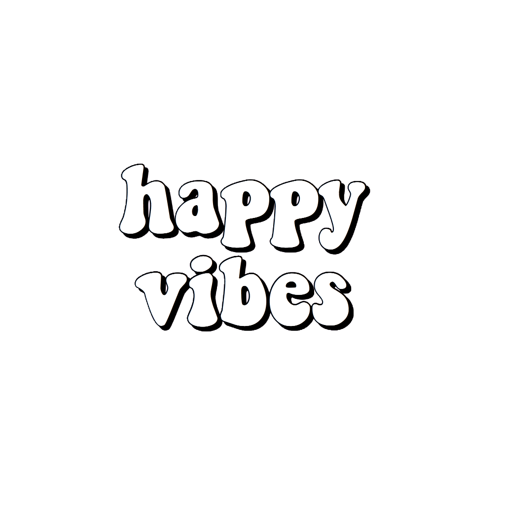 happy vibes Sticker in 2020 Tumblr iphone wallpaper