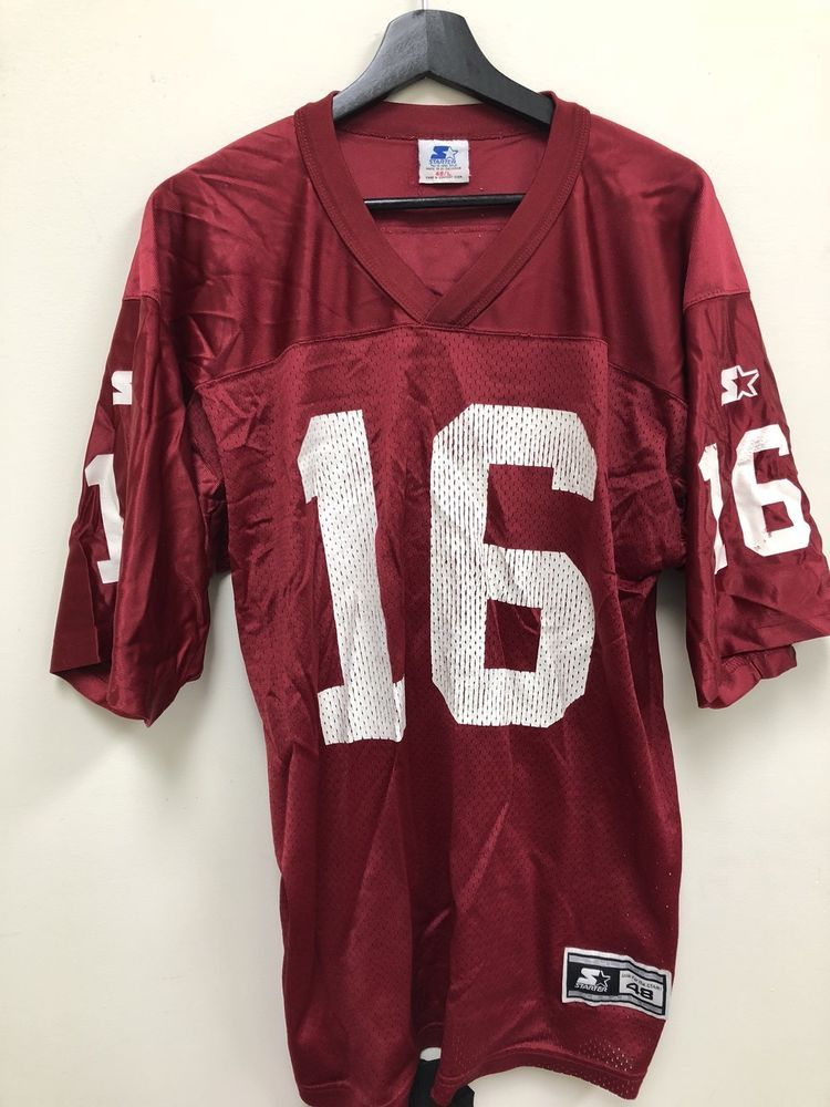 0a3ad1007fd5 Vintage Starter Jake Plummer Arizona Cardinals Jersey Size 48 Red Free  Shipping