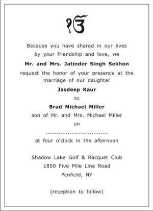 Sagan Ceremony Invitation Card Matter are Luxury Ideas To Create Beautiful Invitations Sample