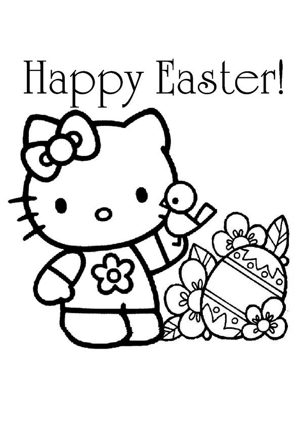 Print Coloring Image Free Easter PagesEaster