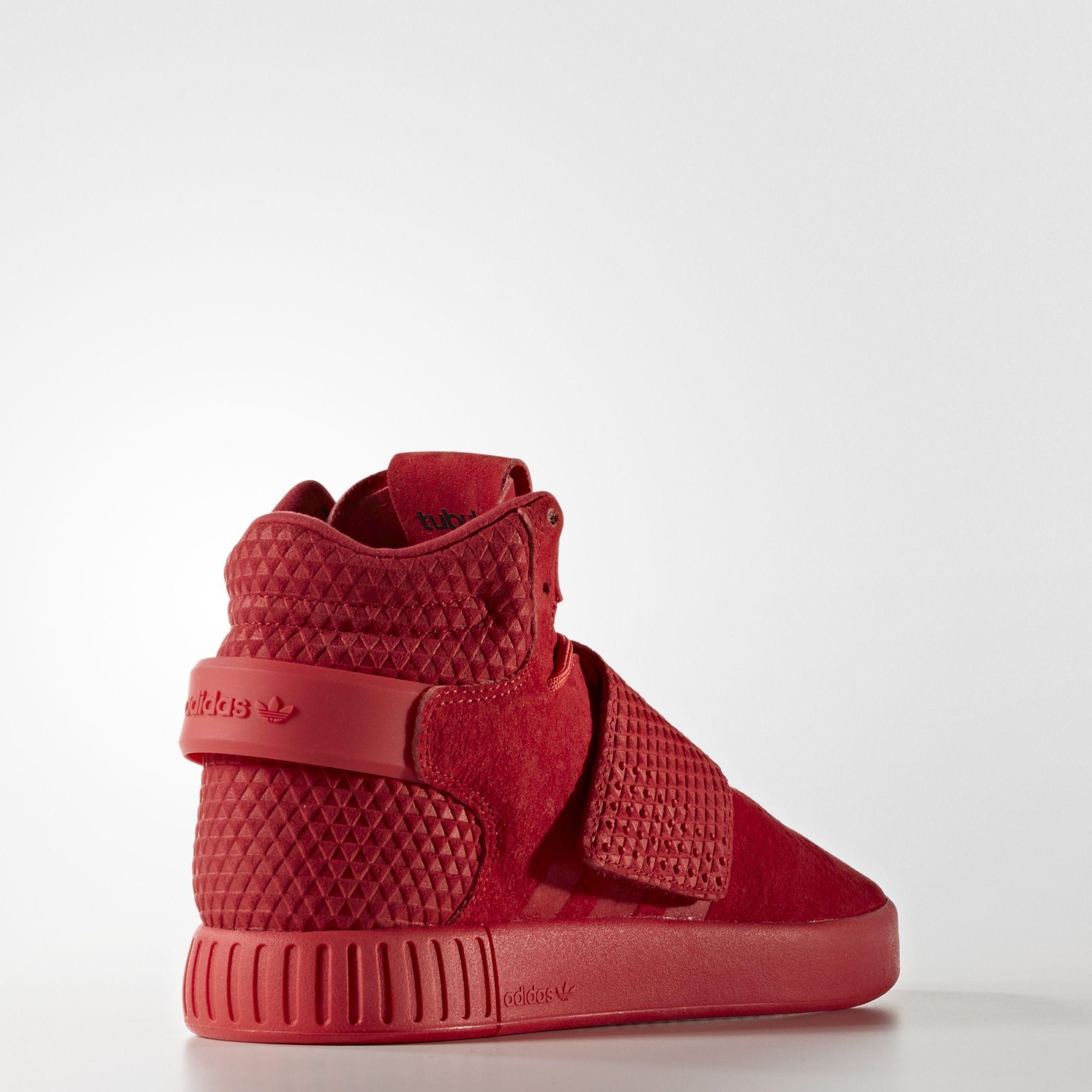 adidas tubular invader strap rouge