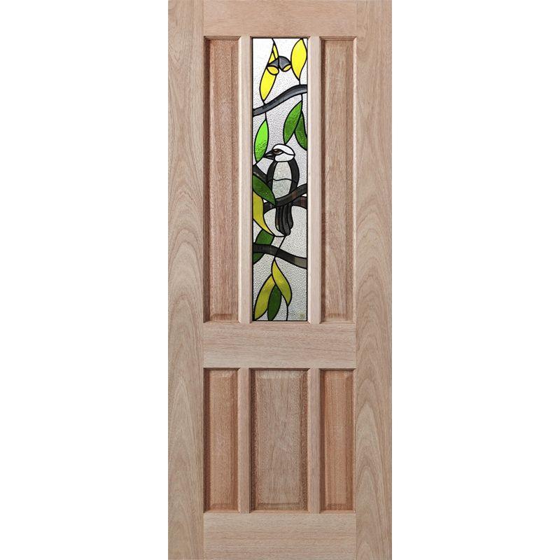 Find Woodcraft Doors 2040 x 820 x 40mm Hamlett Glazed Kookaburra Design Entrance Door at Bunnings  sc 1 st  Pinterest & Woodcraft Doors 2040 x 820 x 40mm Hamlett Glazed Kookaburra Design ...