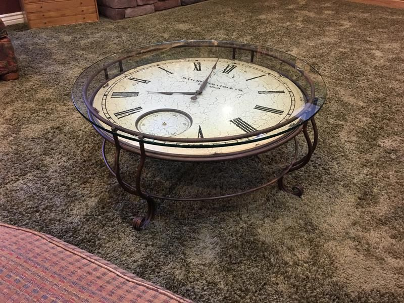 Clock Coffee Table | Ksl.com