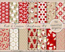 0b2062ab9cf2 SALE christmas digital paper christmas printable paper kraft christmas  digital paper angel reindeer snowflake christmas tree