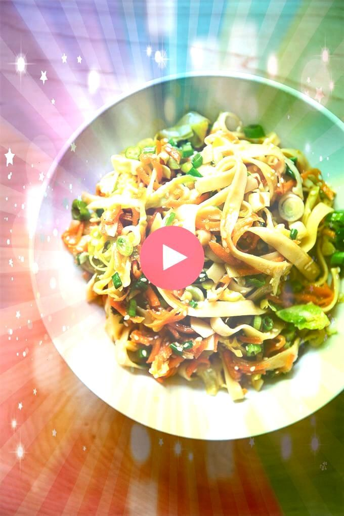 is one of the fastest most satisfying meals Ive made in a long time udon noodles with chilies scallions cabbage and any veg your heart desiresThis is one of the fastest m...