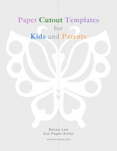 graphic regarding Paper Cutout Templates known as Totally free paper cutout templates for youngsters and mother and father Artwork