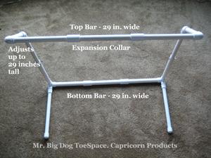 BLANKET SUPPORT LIFT BAR FRAME Mr. Big Dog TOESPACE Bed
