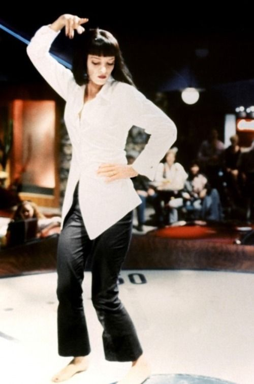 Image result for uma thurman pulp fiction