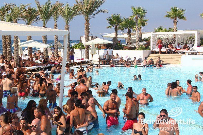pin on beach party lebanon