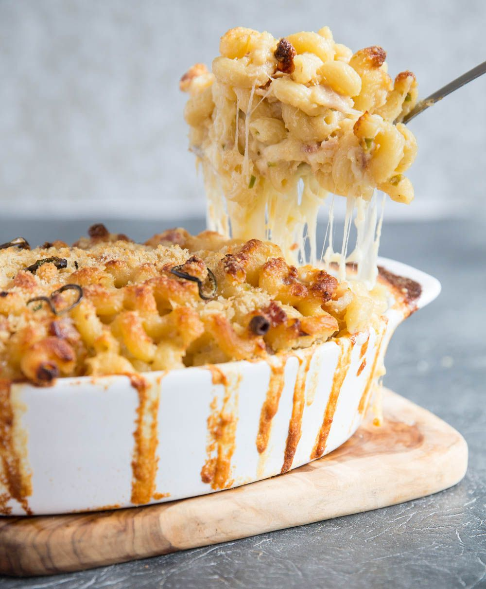 Spicy Mac And Cheese With Bacon Recipe Spicy Mac Cheese