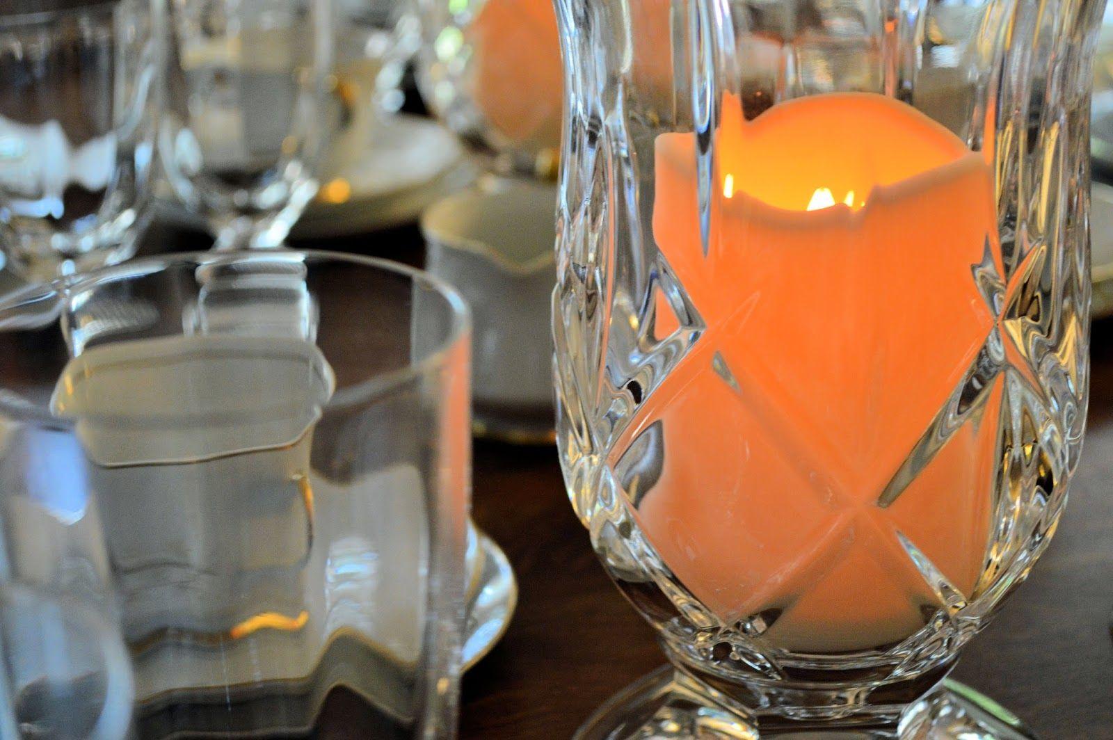 Sew Southern: 1960's Arlen Maple Leaf China #Midcentury #MapleLeaf #Candlelit #Crystal