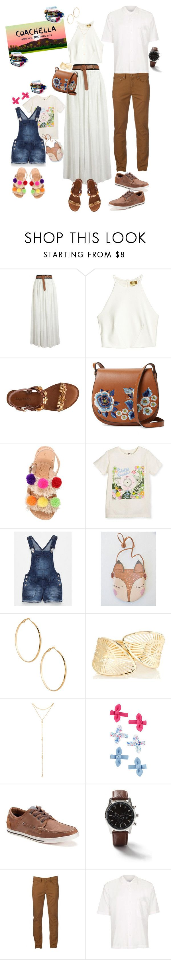 """Coachella Family"" by brunettediary ❤ liked on Polyvore featuring H&M, French Connection, Selini Action, Vanilla Star, GUESS by Marciano, Fragments, SONOMA Goods for Life, Topman, Urban Pipeline and coachella"