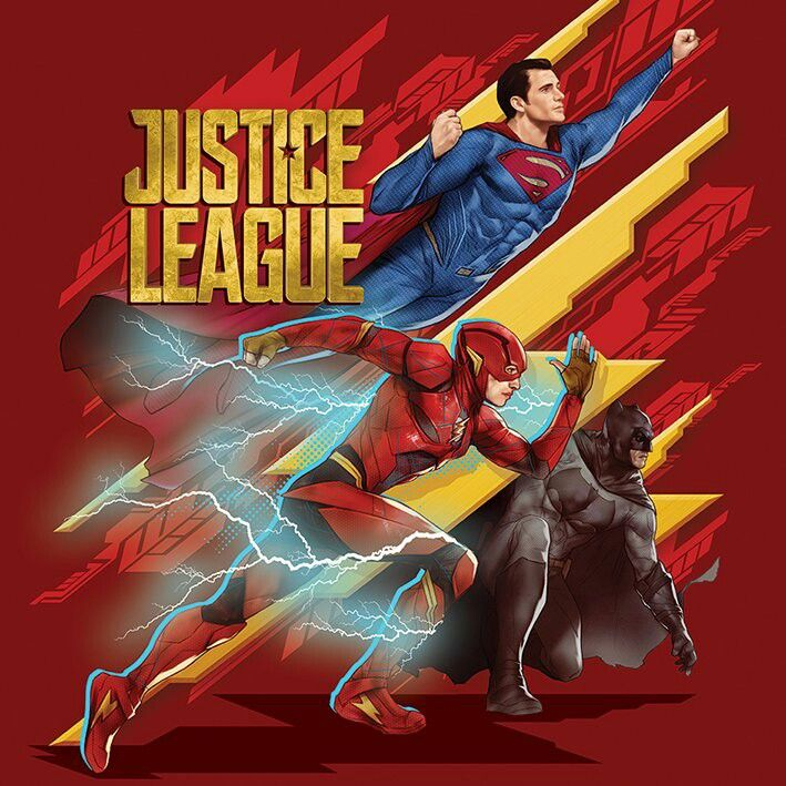 Juctice league official artwork.