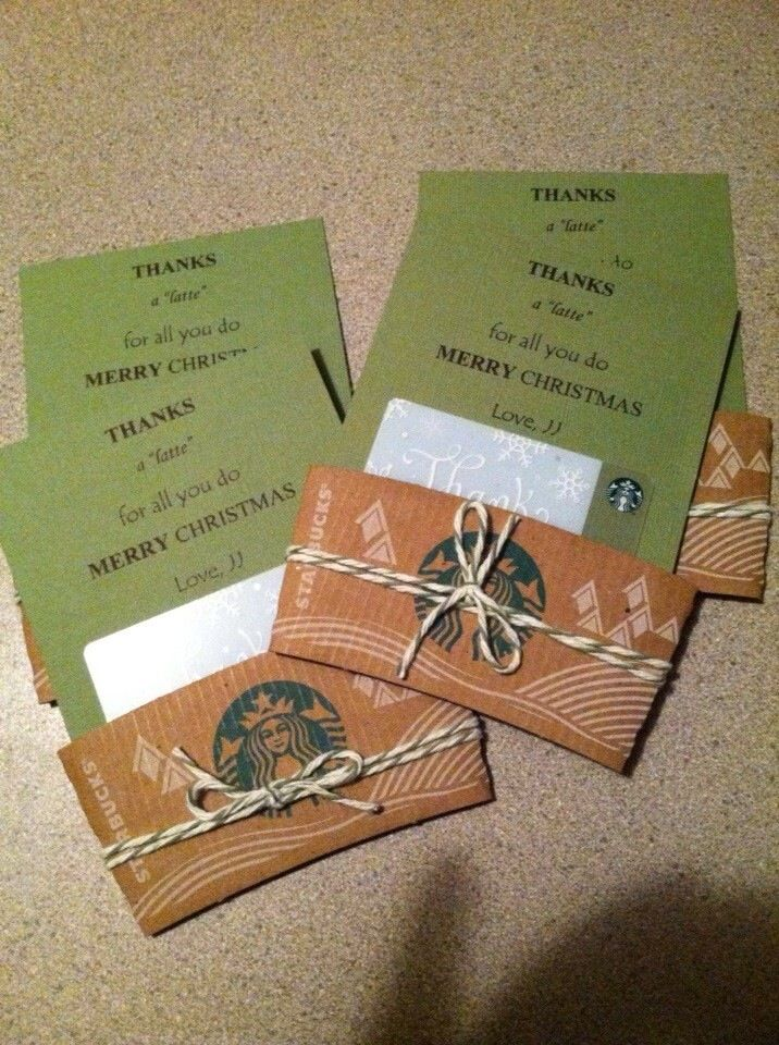 Starbucks gift cards | Gift Ideas | Pinterest | Starbucks gift ...