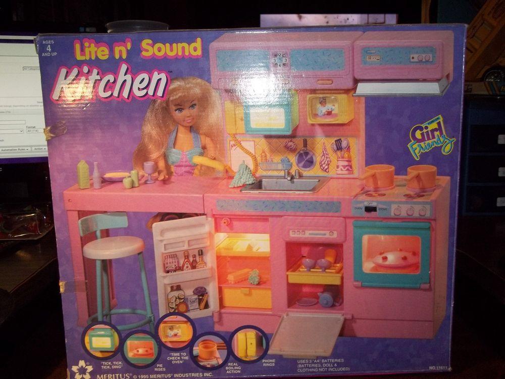 1995 Meritus Industries Inc Light n\' Sound Kitchen Cafe Complete ...