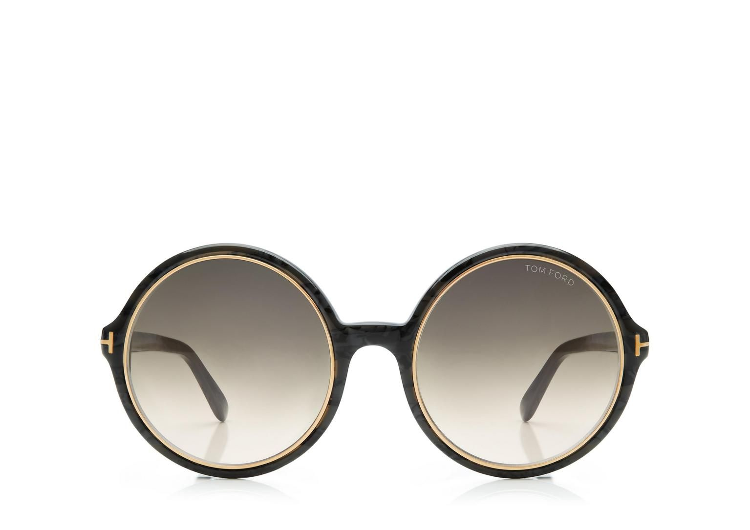 94461f90fc Carrie Vintage Round Sunglasses