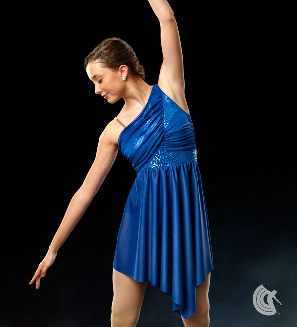 Curtain Call Costumes Moonstone Front Lined Glitter Mesh