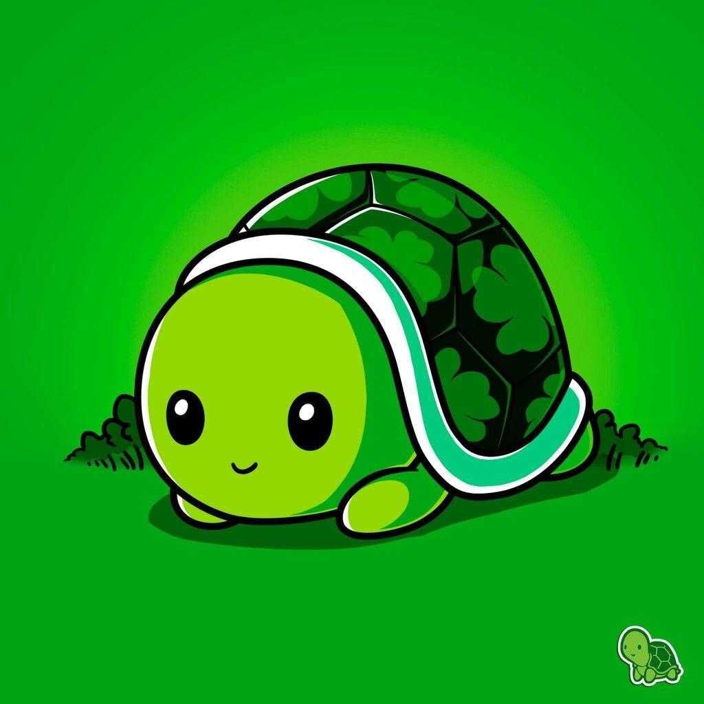Pin By Yaya02 On Funny Cute Turtle Cartoon Cartoon Turtle