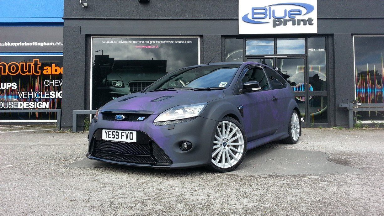 Blueprint Nottingham Zombie Wrap On Ford Focus Rs Ford Focus Rs