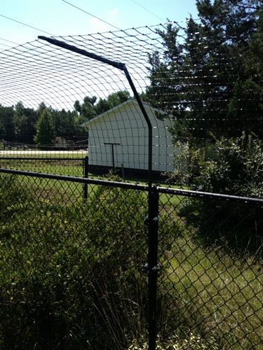 How to make your chain link fence higher google zoeken
