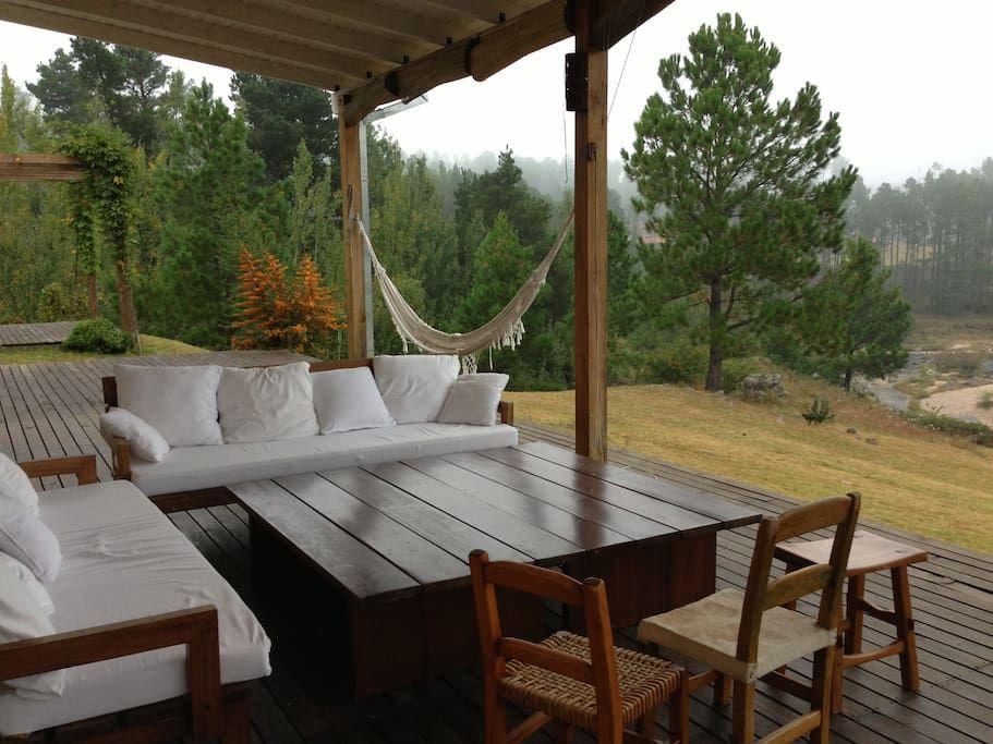 Casa De Montaña Bosque Y Playa Casas En Alquiler En Villa