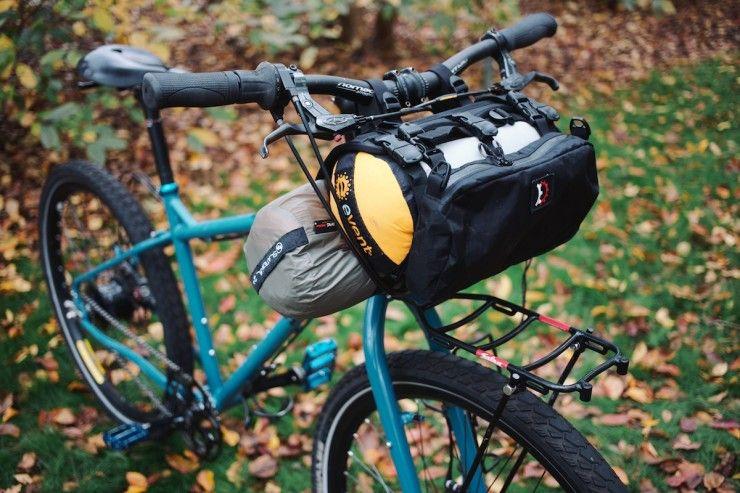 Revelate Handlebar Bags Harness Vs Sweet Roll Handlebar Bag Bikepacking Bike Bag