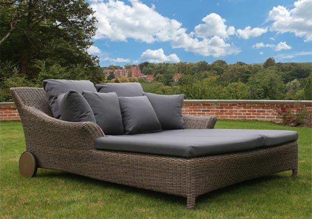 Bridgman Valentine double sunbed with waterproof cushions. | Like it ...