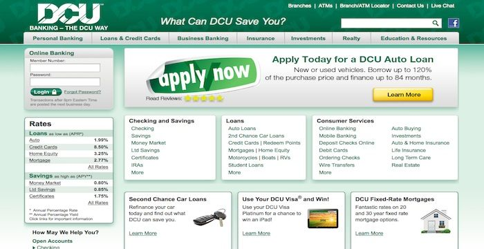 Dcu Car Loan >> Dcu Login The Borrowers How To Apply Digital