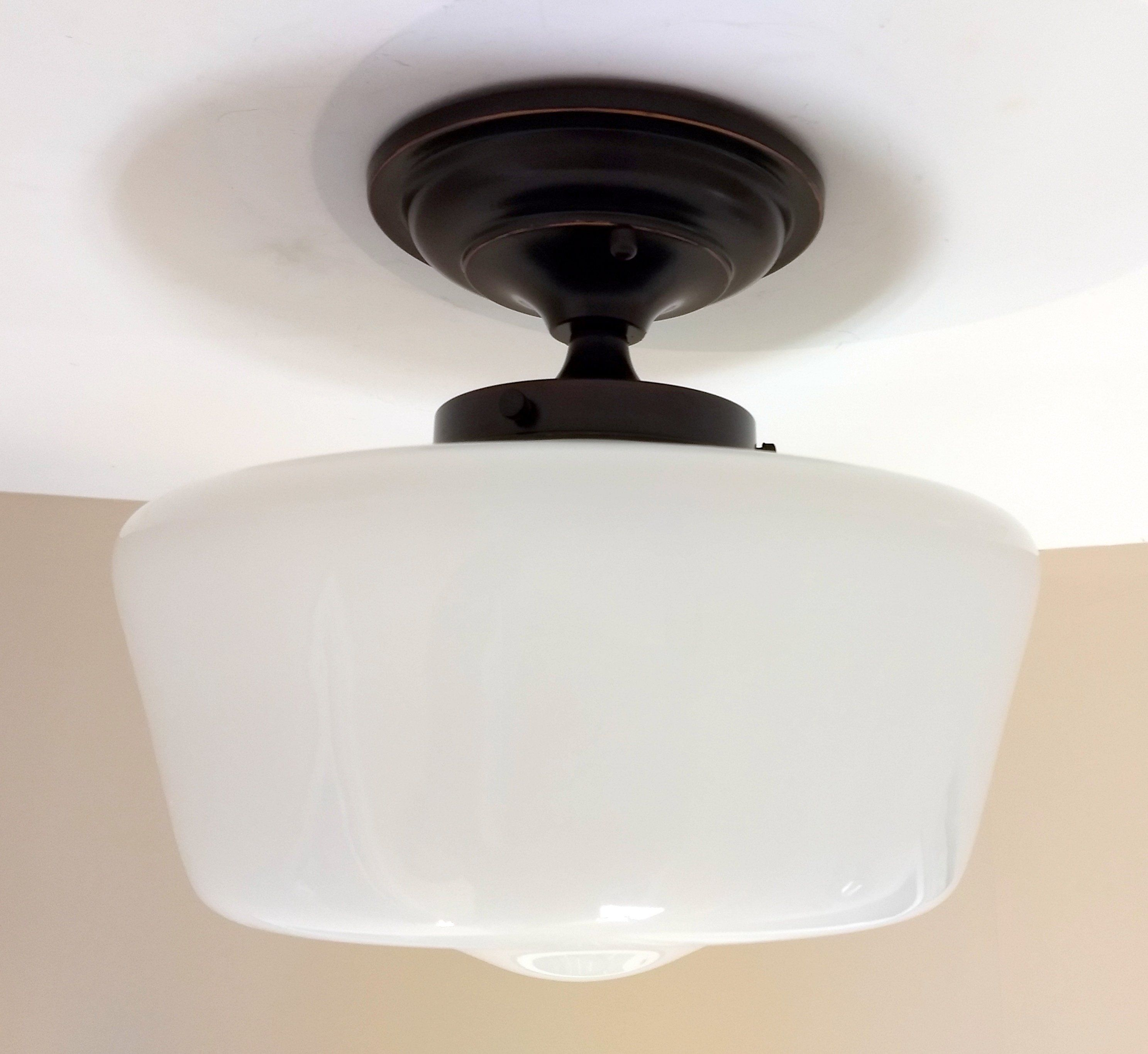 Schoolhouse Ceiling Light Fixture