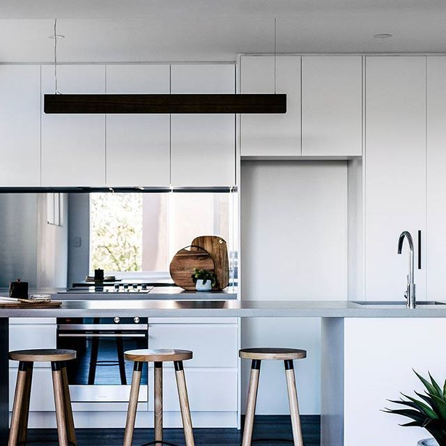 Great Sleek Lines And A Suave Raw Concrete Bar Top U003d Modern Magic! Property Flip  Creates · Open Galley KitchenGalley ... Good Ideas