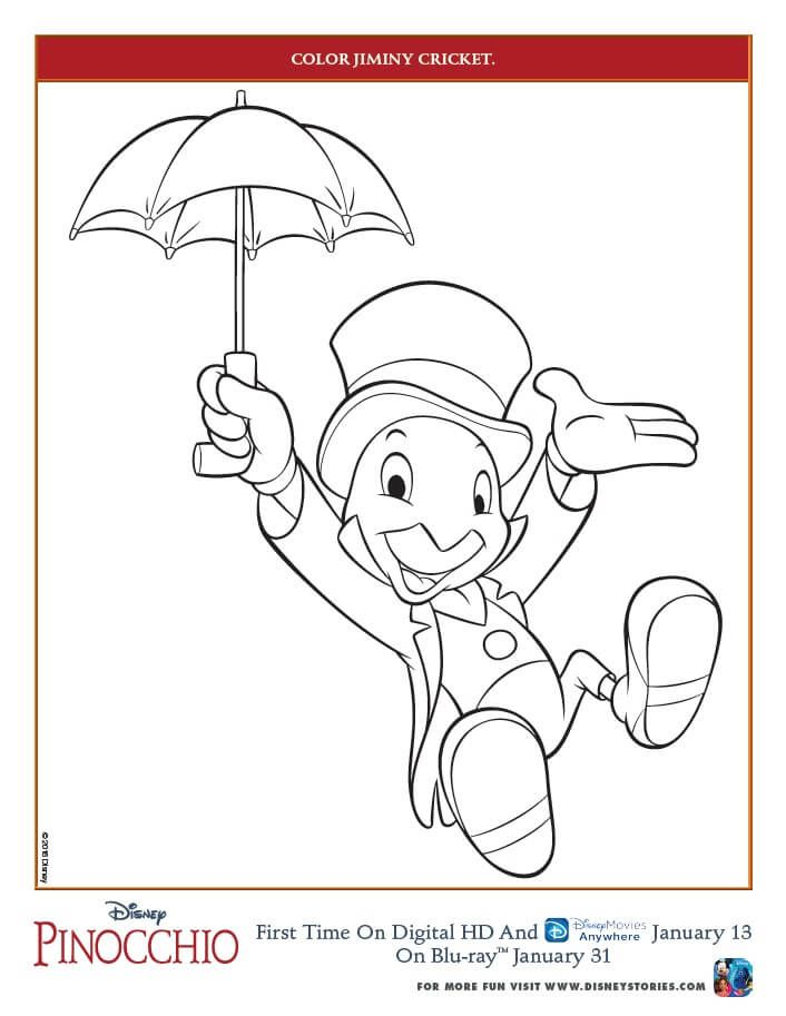 Pinocchio Coloring Pages And Activity Sheets Free Printables