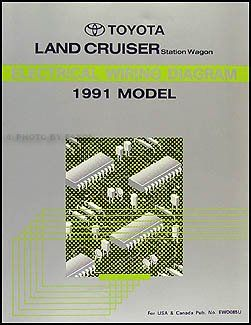 1991 toyota land cruiser wiring diagram manual original | toyota land  cruiser outpost