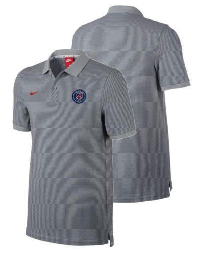 37d7418b99b00 NWT Paris Saint Germain PSG Nike Polo Trikot Shirt Authentic Grau 2016 SZ L  Clothing, Shoes & Accessories:Men's Clothing:Athletic Apparel #nike #jordan  ...