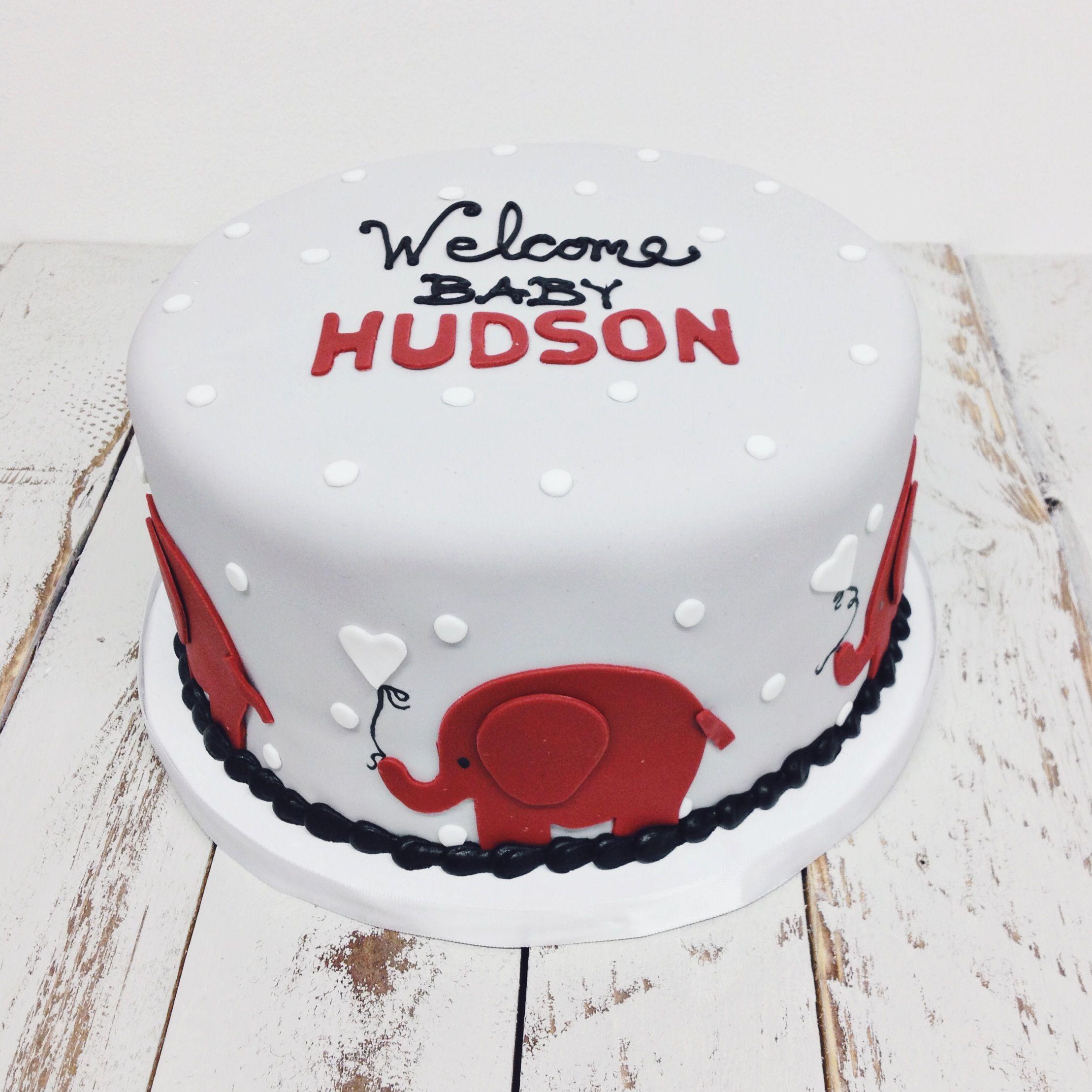 Sensational Alabama Elephant Baby Shower Cake Nashvillesweets Com With Funny Birthday Cards Online Necthendildamsfinfo