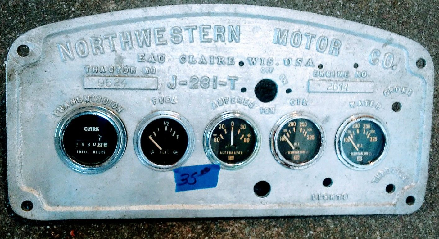 From an air port tug car parts