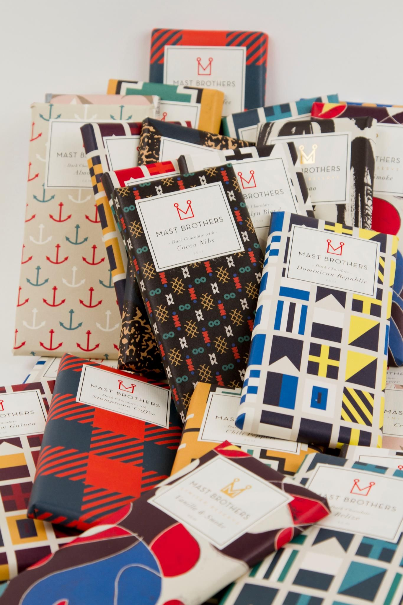 Mast Brothers - has chocolate wrapping ever been more appealing ...